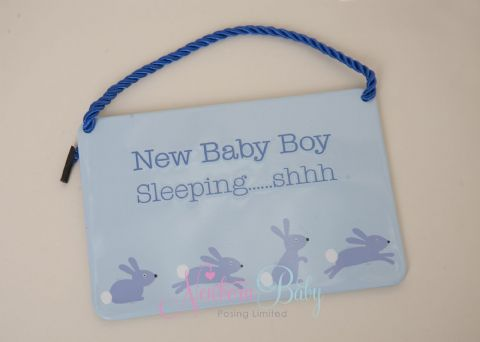 Baby Boy Plaque